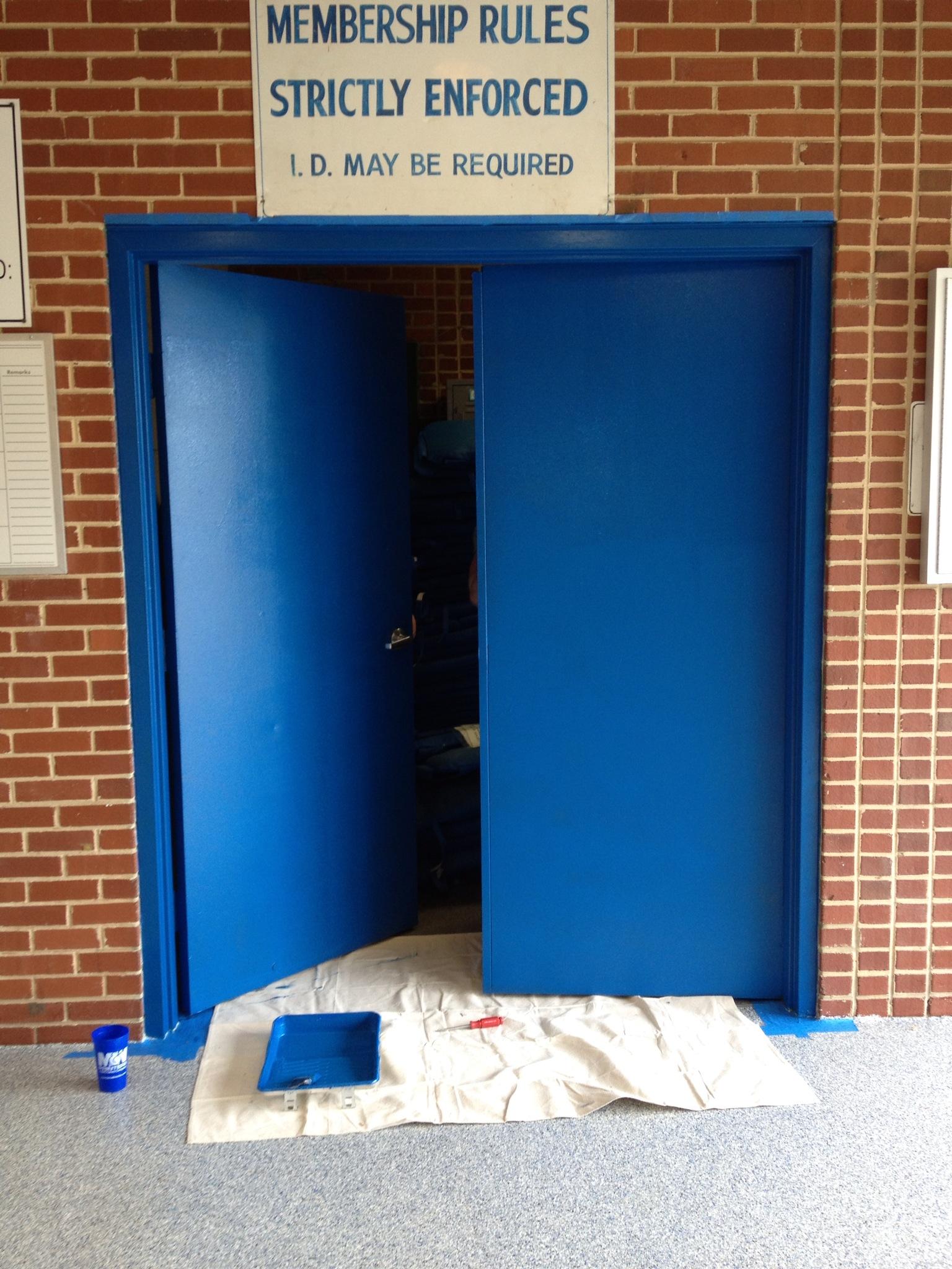Guard Shack Doors
