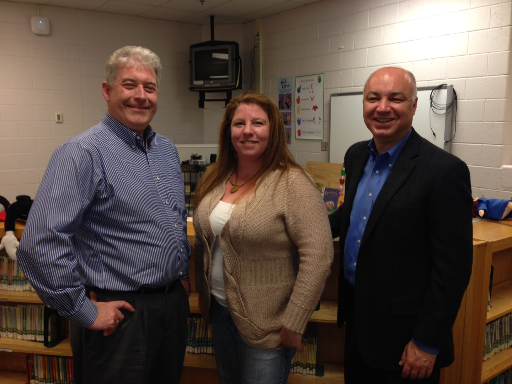 New Board Members (from left) Kevin Corcoran, Kerry Dangerfield, and Peter Bayer.