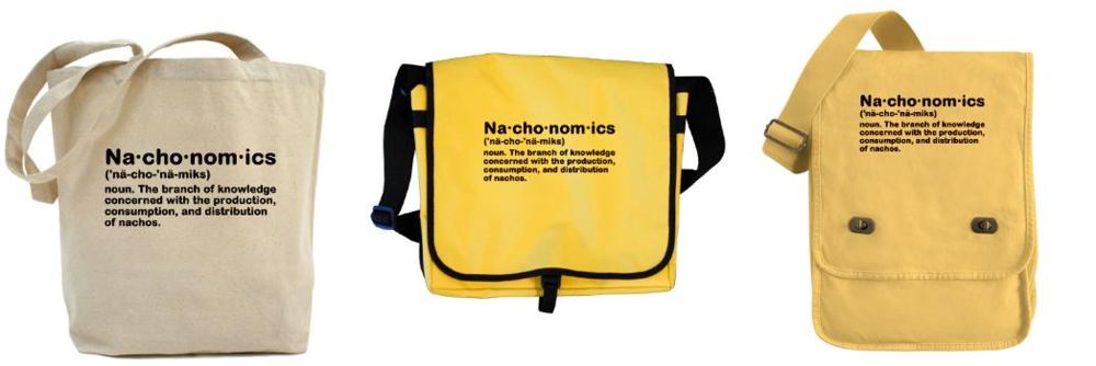 Bags for nachos and other things.