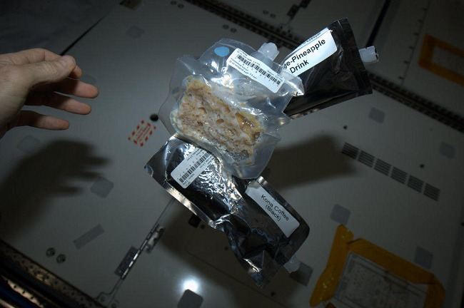 Per Commander Hadfield, this is a breakfast.