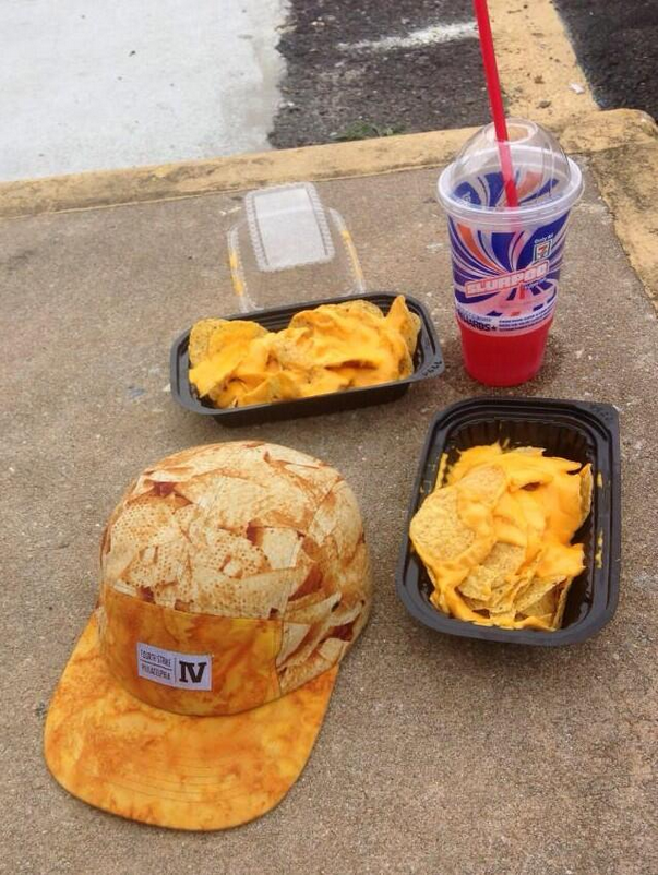 Sure, it's a hat of Concession Nachos, but it's the only nacho hat you're likely to see.