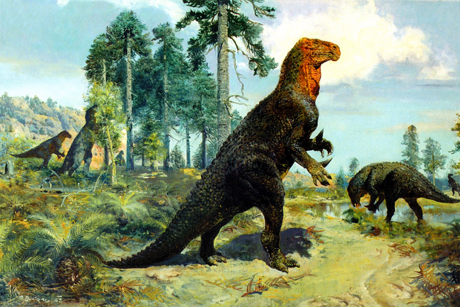 As mentioned previously,  Iguanodon loved nachos .
