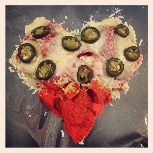 Valentine's Nachos