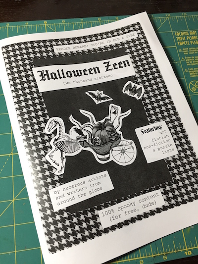 Reader Beware: You're in for a Zine!