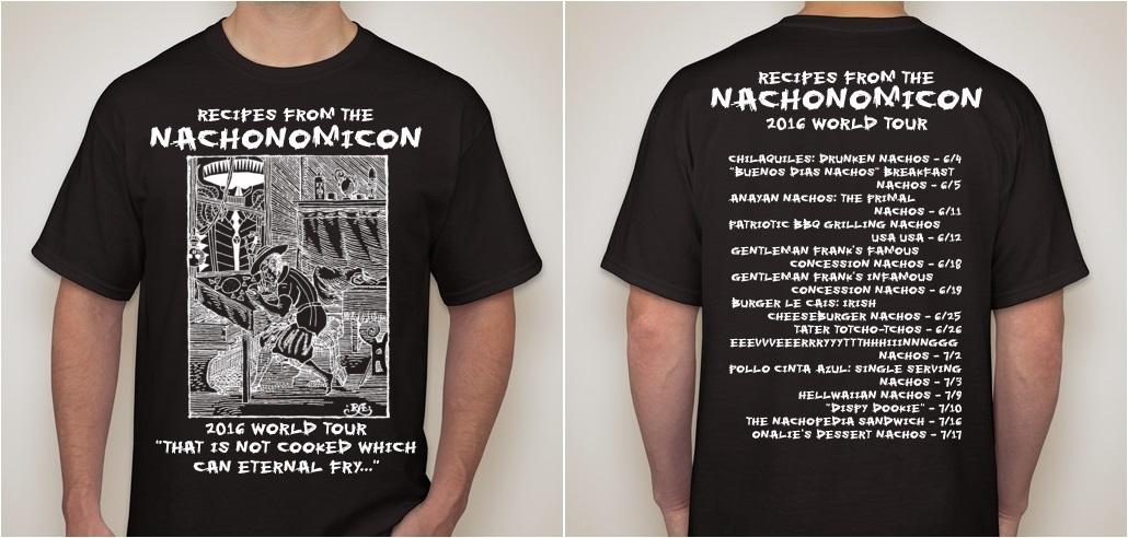 Nachonomicon World Tour Shirt