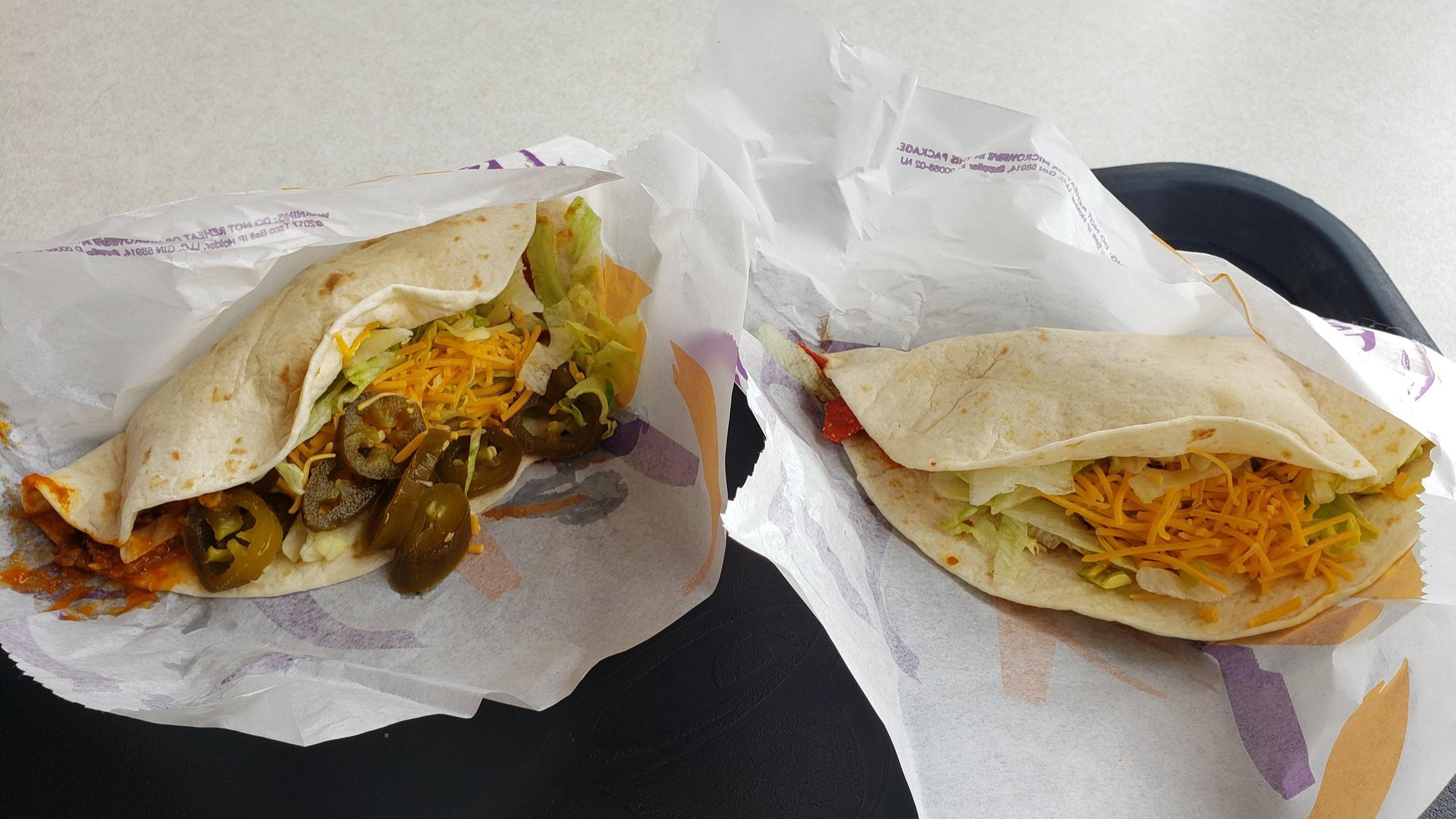 Spicy Loaded Nacho Taco
