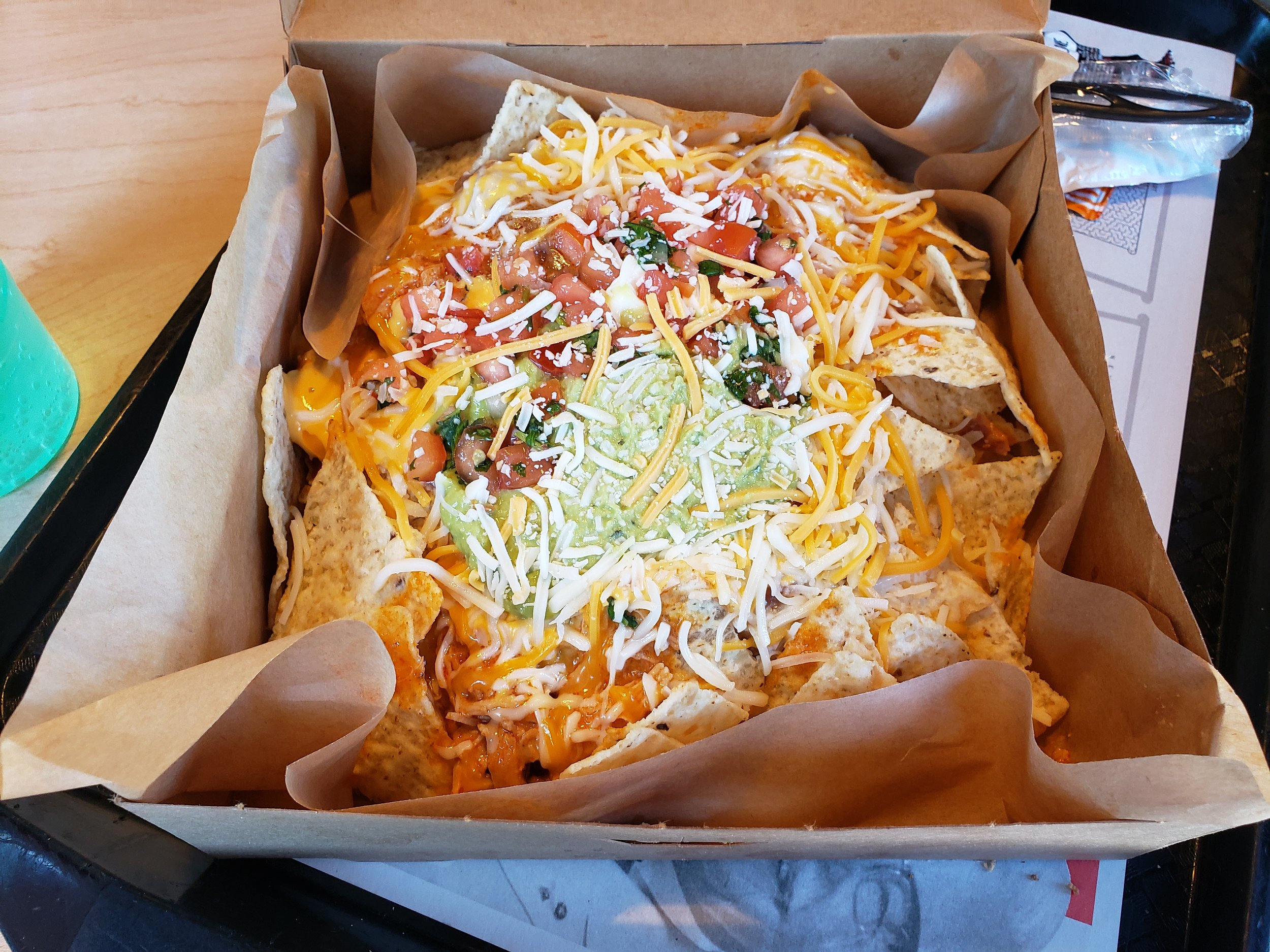 Taco Bell Open Christmas.Review Taco Bell Grande Nachos Box Nachonomics