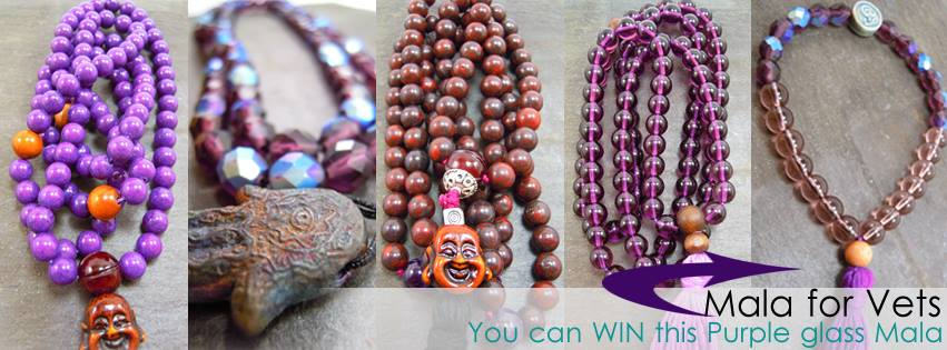 YOU CAN WIN a wrist mala...CLICK HERE and leave a comment before April 25th.