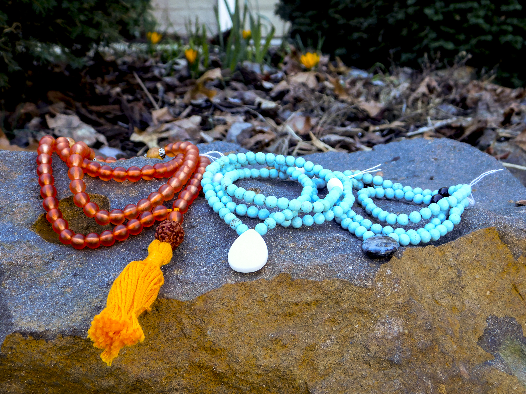 From right to left: Deep Tranquility, Peaceful Changes (2 available) & Banish Fear
