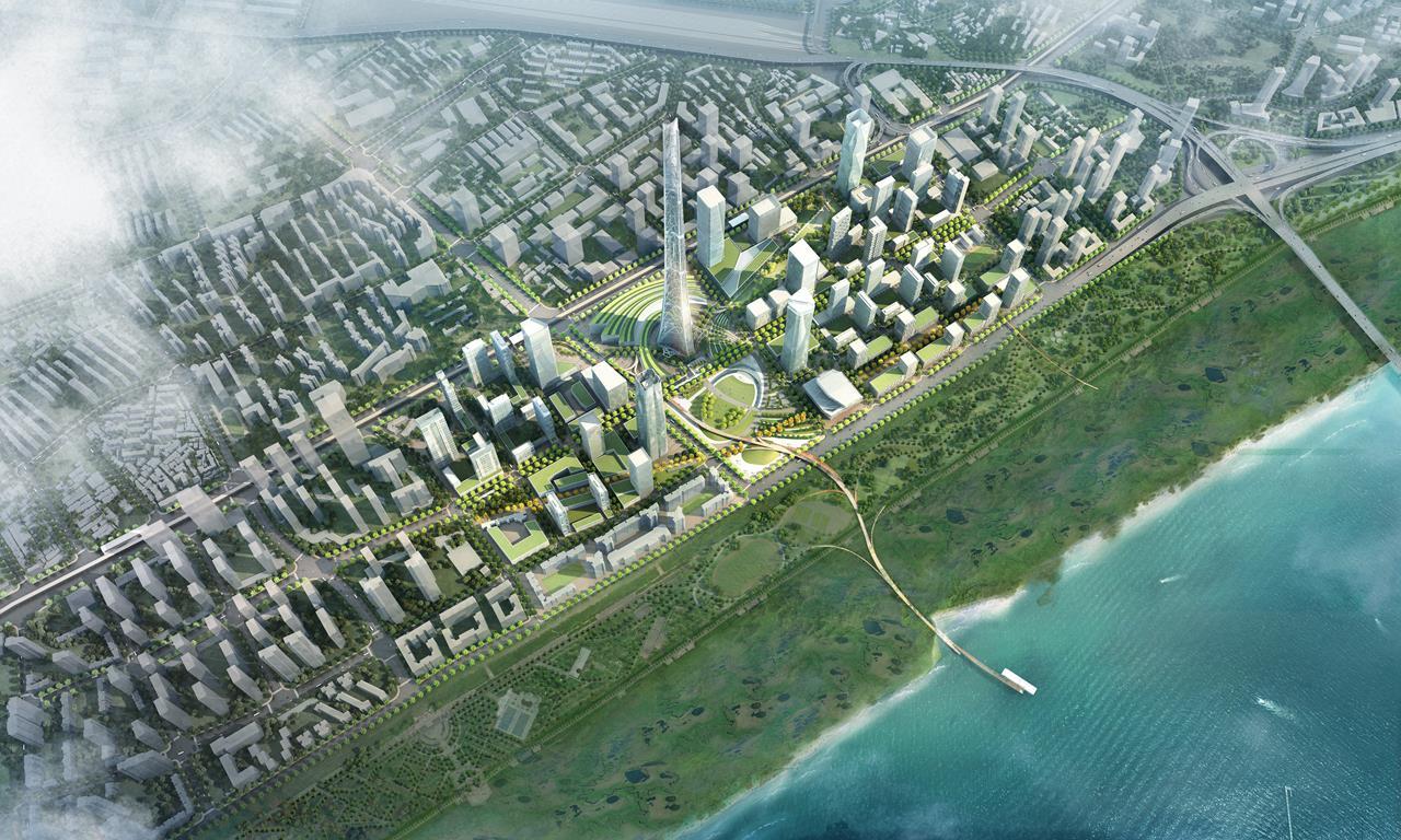Wuhan Jiang'an_Aerial.jpg