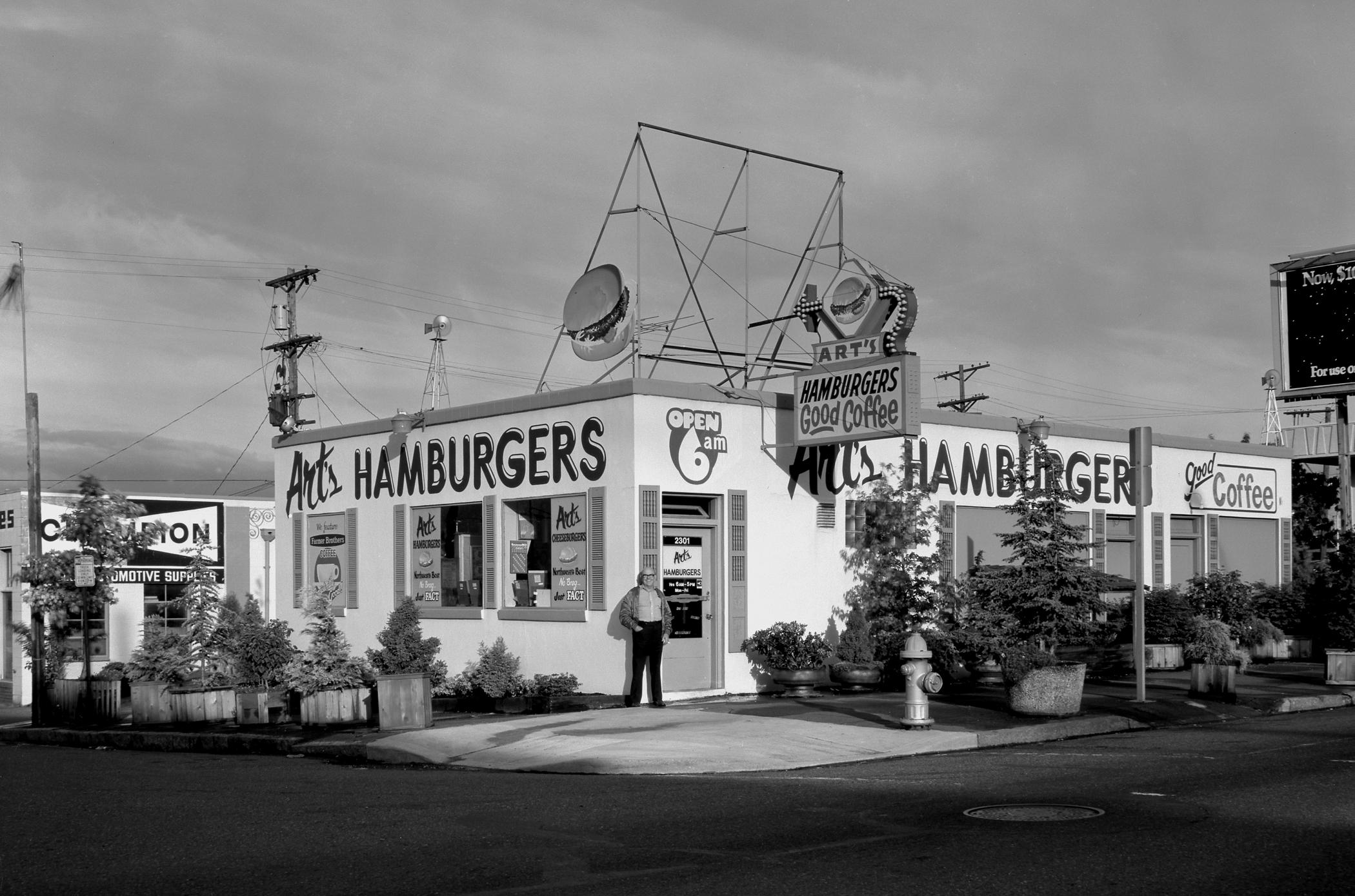 Al's Breakfast, Tacoma, Washington, 1985