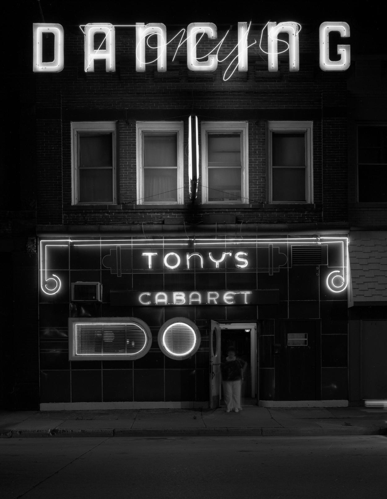 Tony's Cabaret, Superior,  Wisconsin, 1982