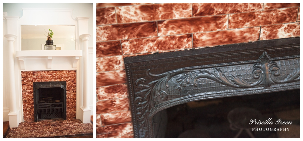 The details of this fireplace. Just beautiful.