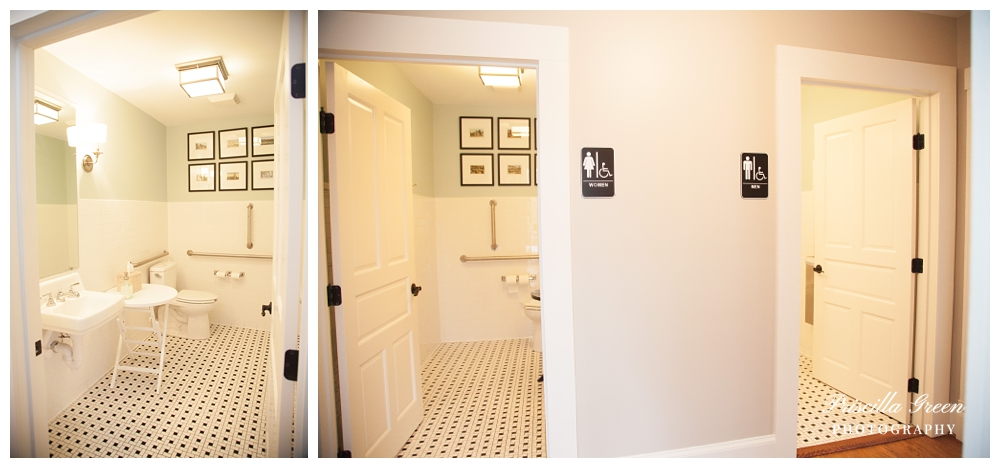 We couldn't forget the bathroom.