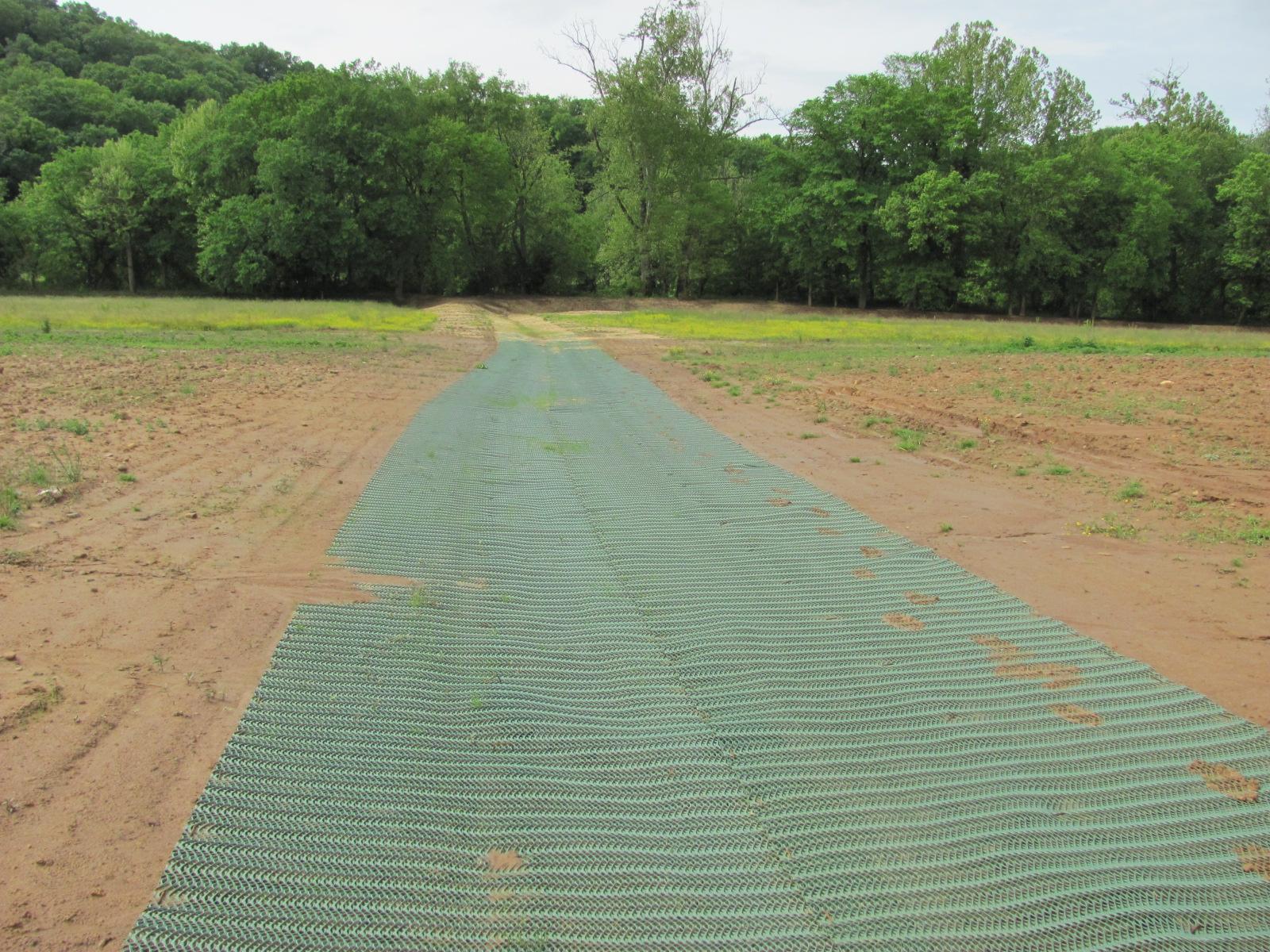 Shelton Farms Sediment Management Project, Reinforced Waterways, Hamblen County, TN