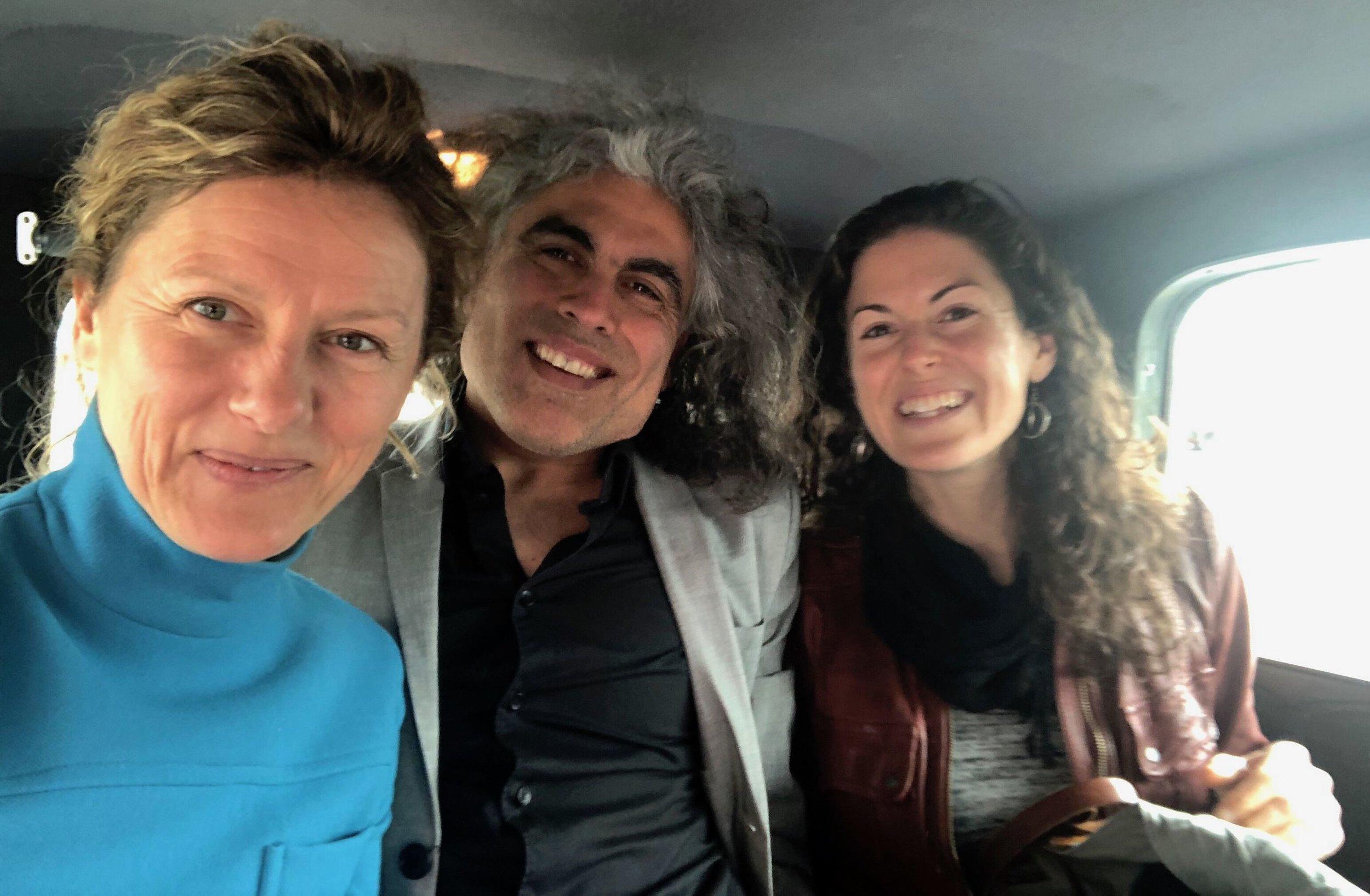 Tanja Dzambazova, Alex Vargas & Katie McFadden