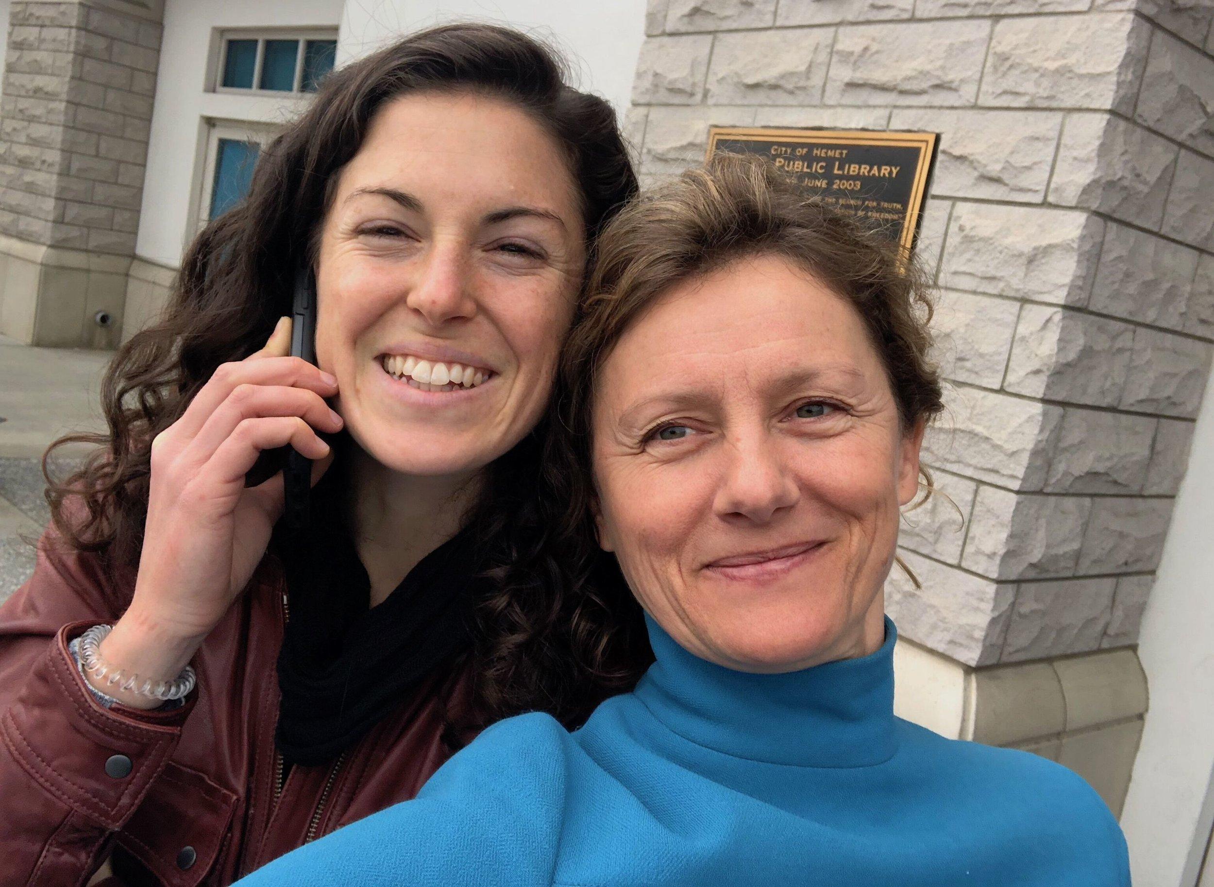 Katie McFadden and Tanja Dzambazova