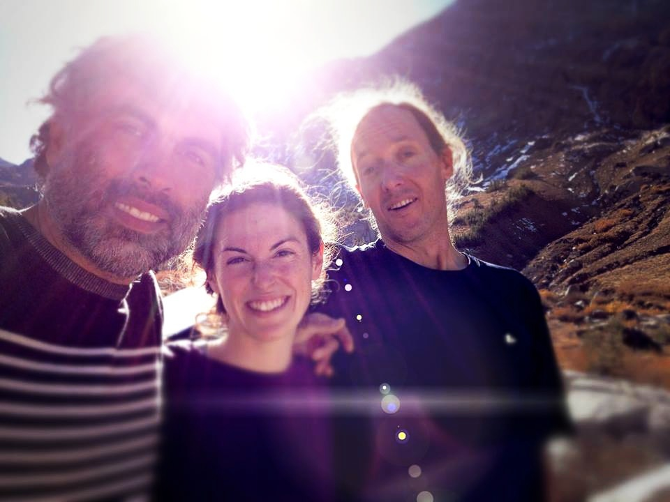 DoP Alex, AD Katie and PA Mark Diehnel on a 5 hr drive to an outdoor shoot in the mountains.