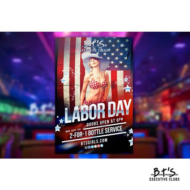 Tonight - Stop in for our Labor Day Party! Doors open at 6! ___ 📍BT's is located at 14417 Michigan Ave, Dearborn📍 📞Call For Booth Reservations (313) 584-3600📞 ⏰Open 12PM-2AM 7 Days a Week!⏰ ___ #btsgentlemensclub