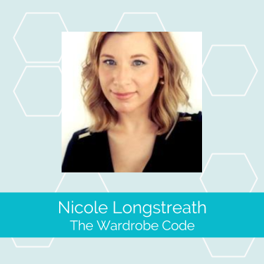 Nicole Longstreath  is on a mission to save women from chaos in their closets and lack of clarity in their wardrobes. She is founder of  The Wardrobe Code  and a wardrobe stylist working with women in Orange County and across the globe.