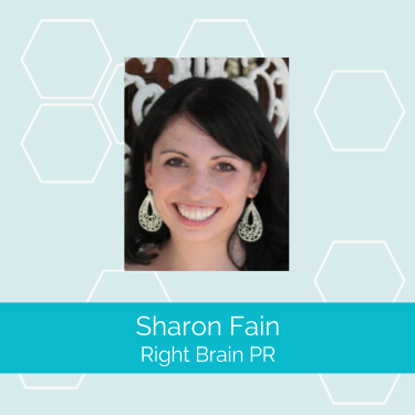 Co-founder of the Academy of Handmade Artists and Supporters and owner of  Right Brain PR ,  Sharon Fain  is passionate about entrepreneurs, good writing and getting press!