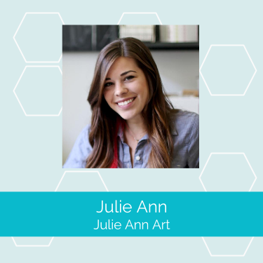 Julie Ann  is the owner and designer behind  Julie Ann Art , a Los-Angeles-based stationery and gift line. What started as a creative hobby is now a nationally recognized brand sold in various brick-and-mortar stores across the US like Urban Outfitters.