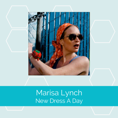 Marissa Lynch   is the author of  New Dress a Day  and runs the  blog by the same name . She took her passion for remaking vintage clothes into modern, stylish outfits and made it a full-time job thanks to her blog.