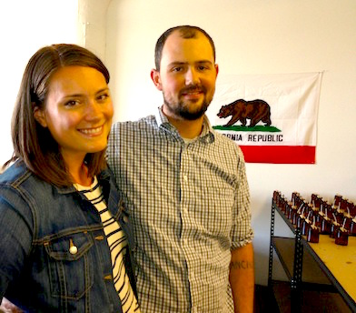 Entrepreneur-makers Kristen and Thomas of PF Candle Co. expanded their business through wholesale.