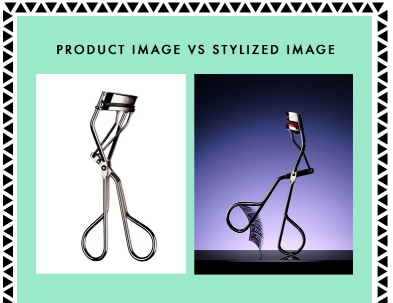 Photographer and stylist Marissa Harrington created this graphic as an example between the different kinds of photos editors like.