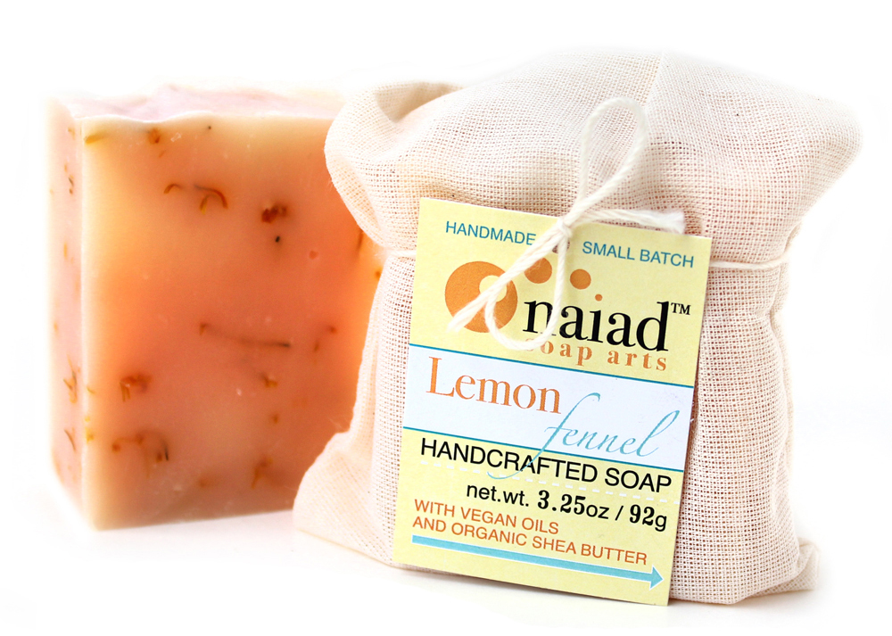 #ahasmemebr Erin of Naiad Soap Arts has packaging that is hard to keep with the original item. But this card makes it easy for someone to keep if they want to buy more from her at a later date.