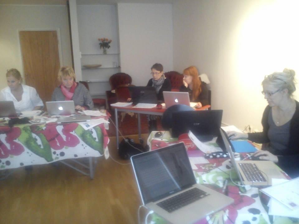 Kurs i digitaltryck,Umeå-för Kulturhuvstaden, februari -mars 2014