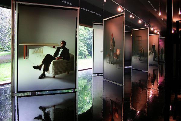Digitaltryck på glas, användning inom utställningar.