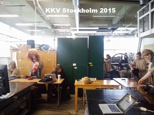 Kurs digitaltryck,KVV Stockholm, february 2015