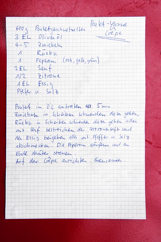 Grepery Winterthur, Yassa Poulet,  Foodfotograf Zürich