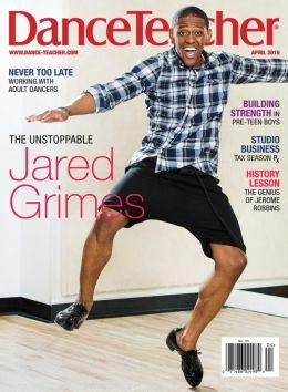 Feautre in Dance Teacher Magazine - April 2015 Issue