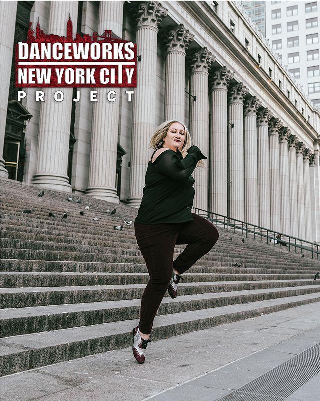 ⭐️TAP TUESDAY⭐️ featuring this rhythmic queen @caseytally #DWNYClove #tapdancer 📸: @jamesjinimages