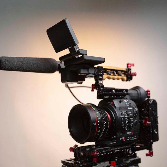 The workhorse 👾🎞🎥 @canonusa #canon #c300mkii #cinematography #documentary #philadelphia