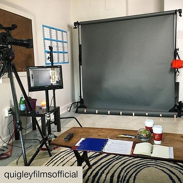 Helping @quigleyfilmsofficial cast today for his new short film Hero!