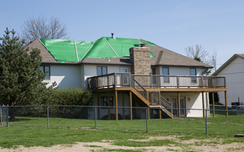How Our Tarp Service Works     Learn about our roof tarps and tarp installation process.