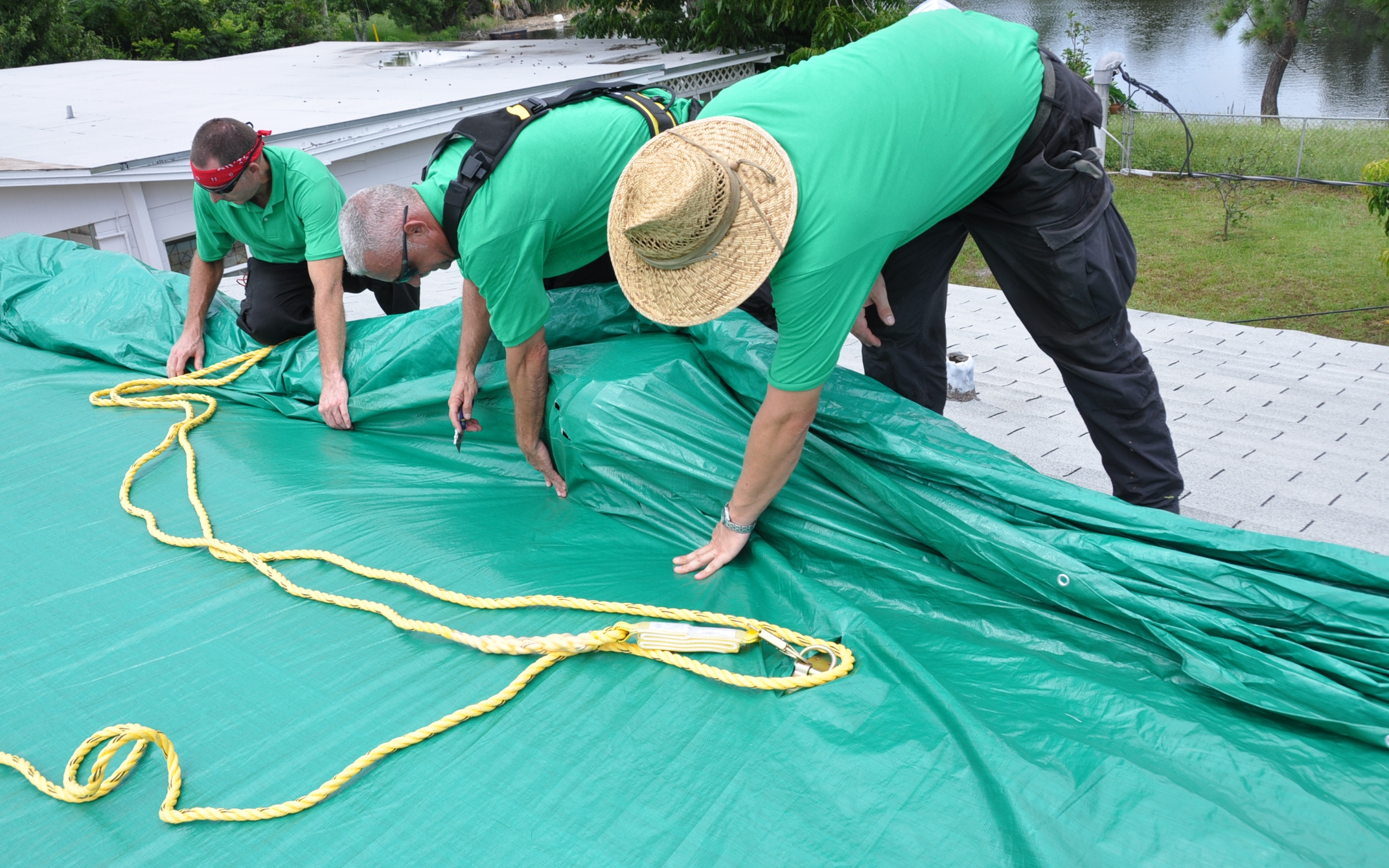 How Our Tarp Service Works      Learn about our roof tarps and tarp installation process. Emergency roof  tarps.