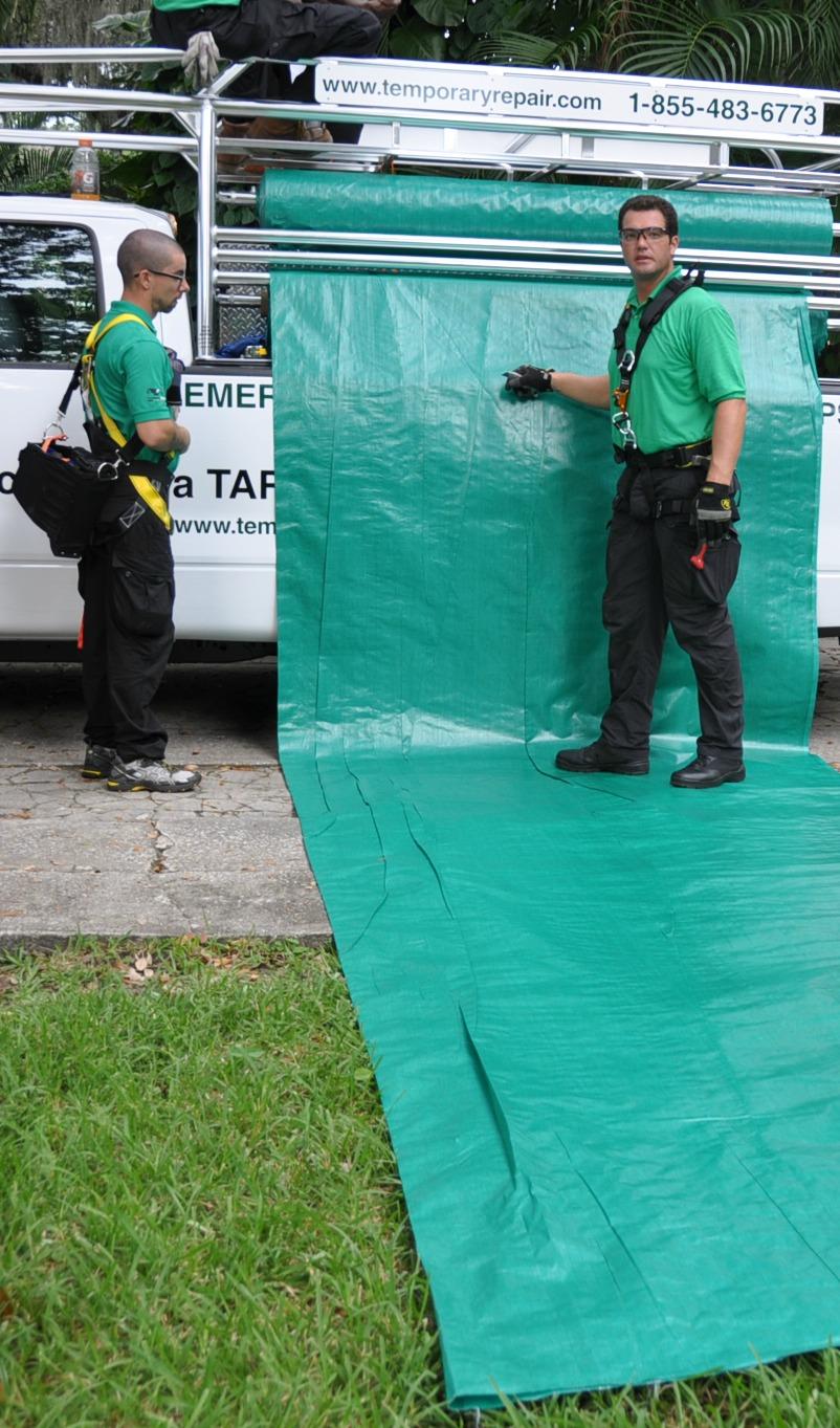 Custom made tarp rolls and truck racks