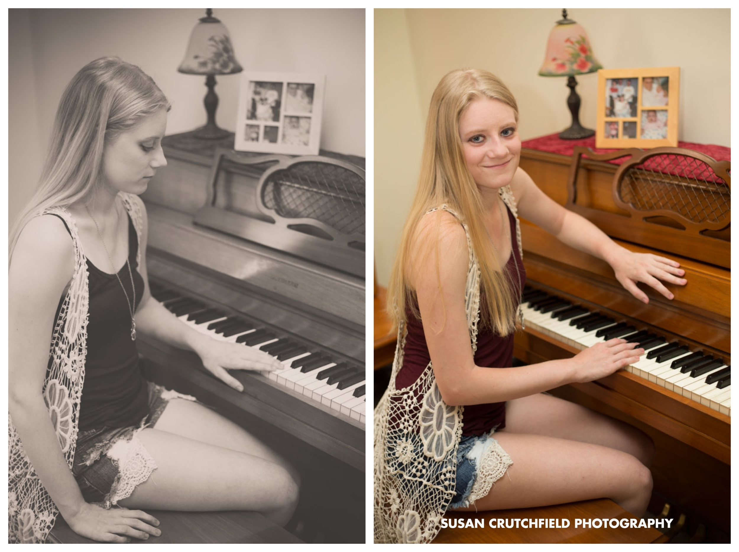 Lawrenceville Musical Senior Photography