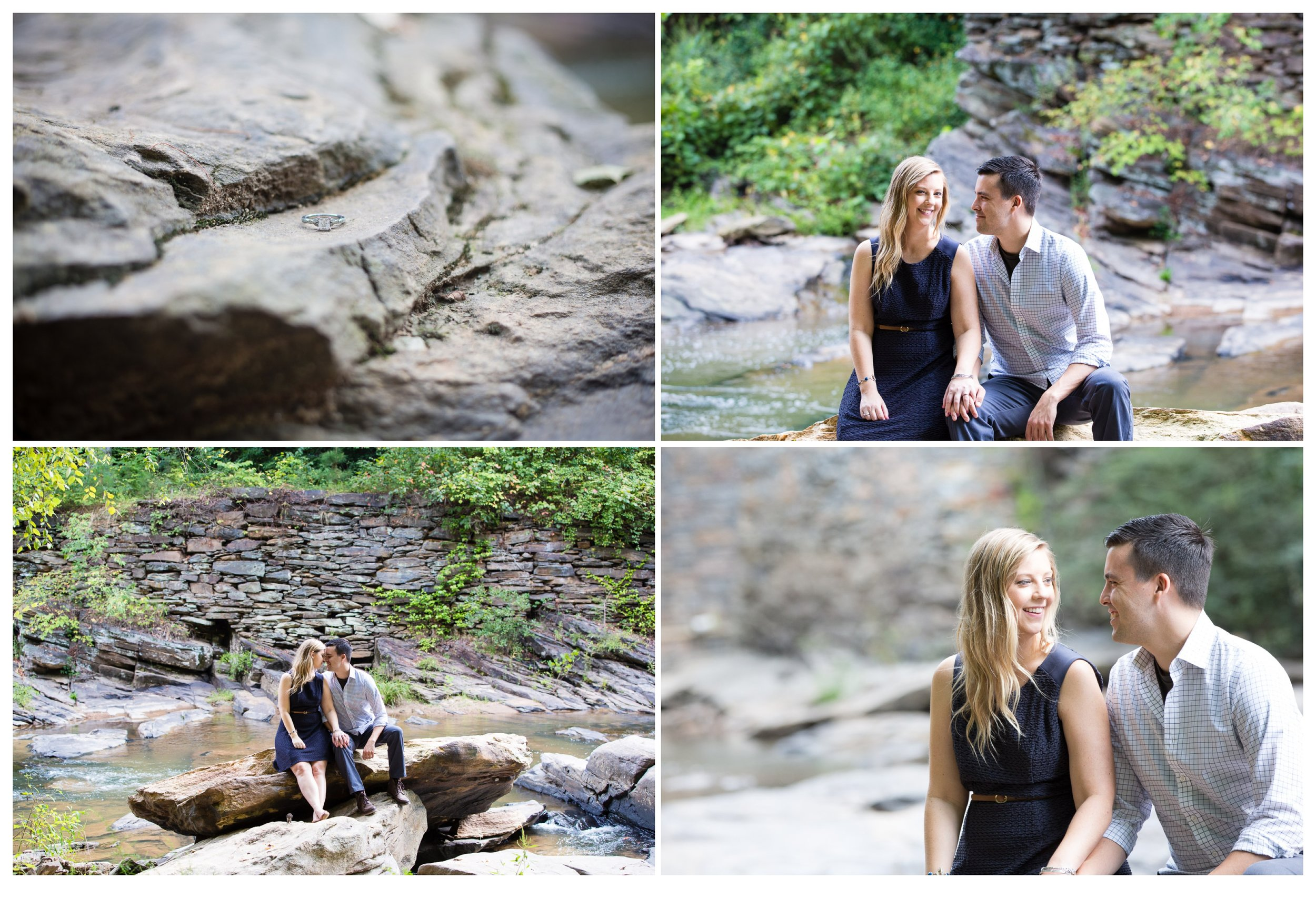Sope Creek Engagement Photos