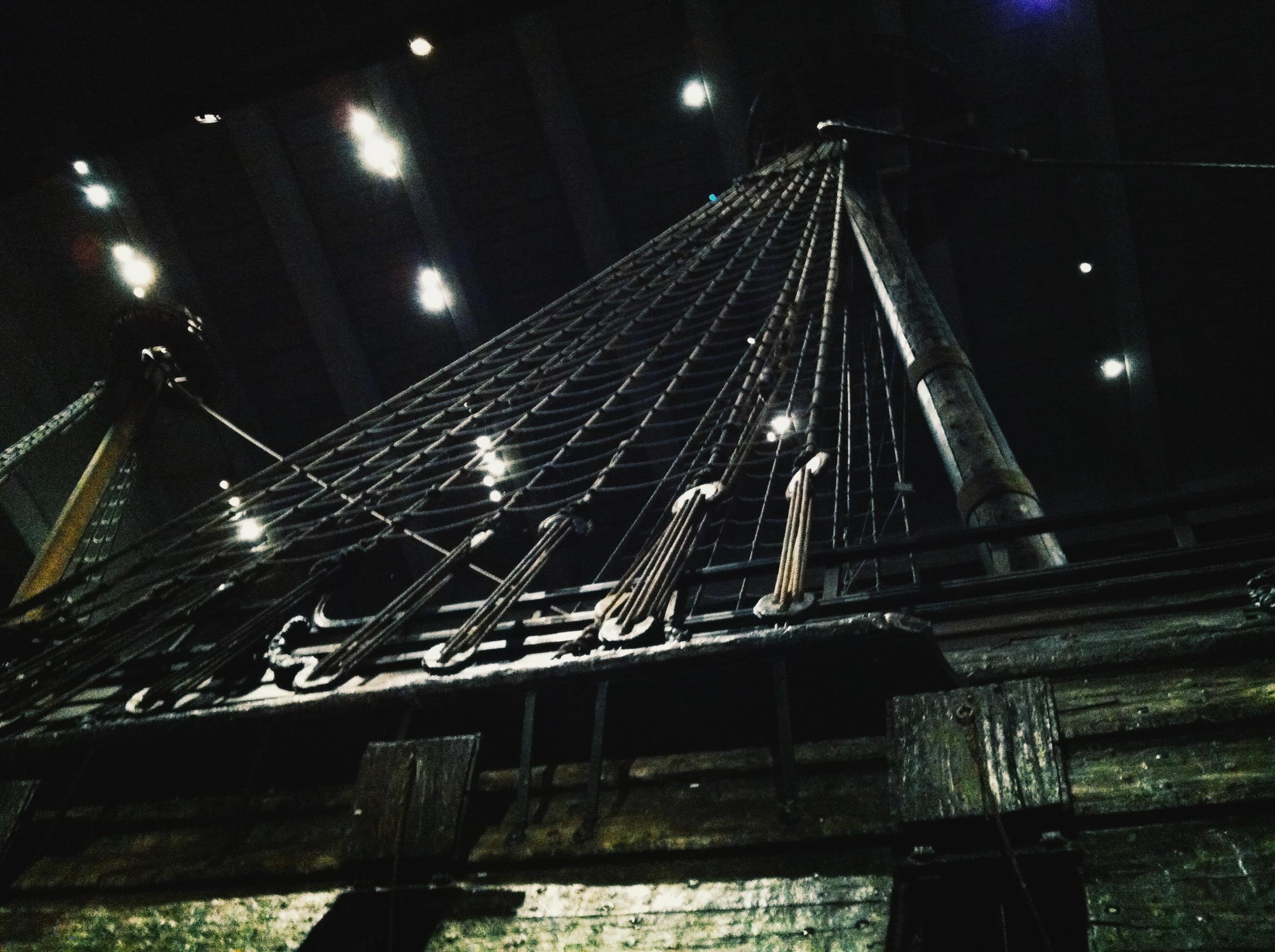 the grand Vasa at the Vasamuseet