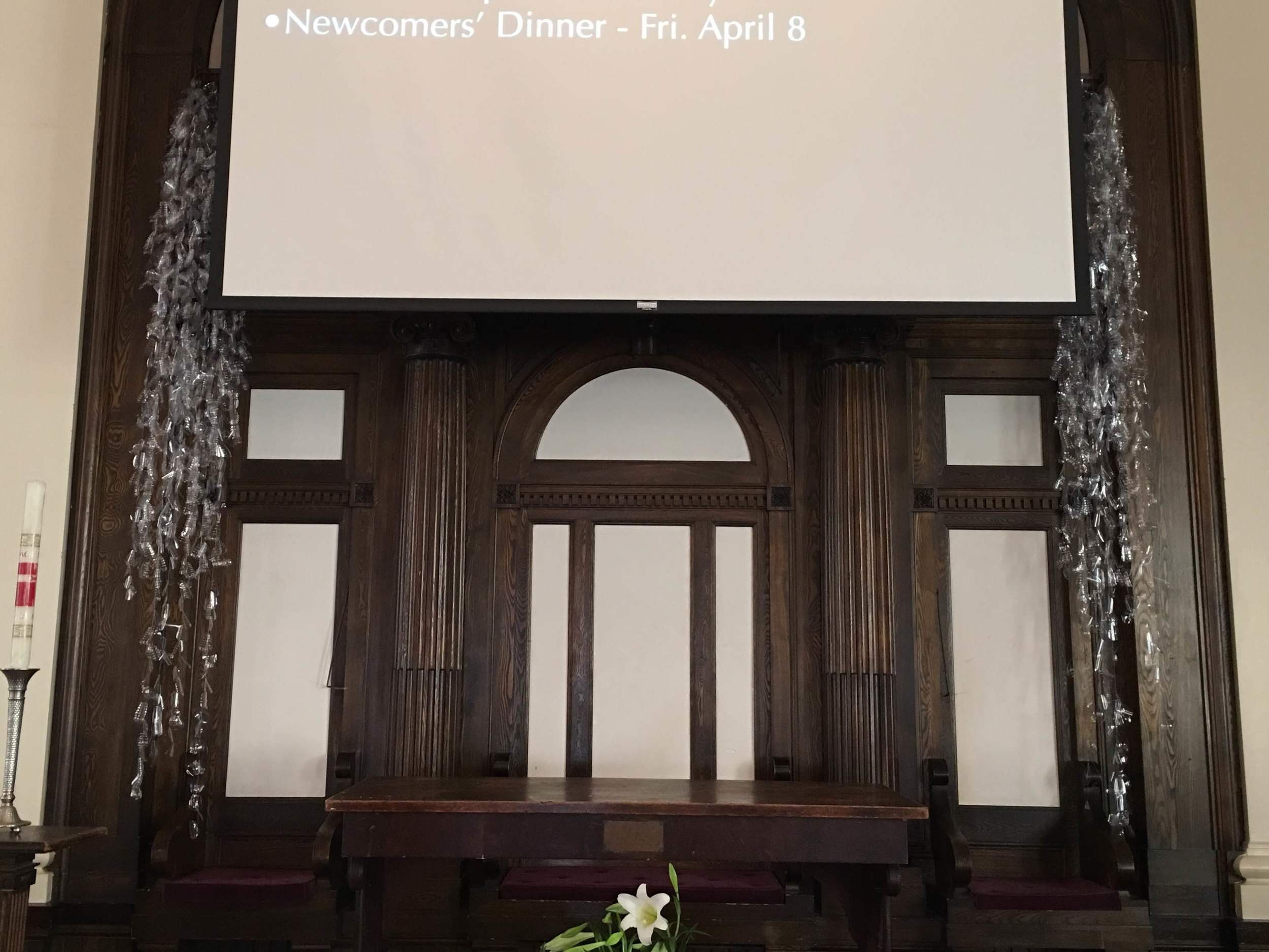 Installation moved to Boston Temple for Easter Sunday Service