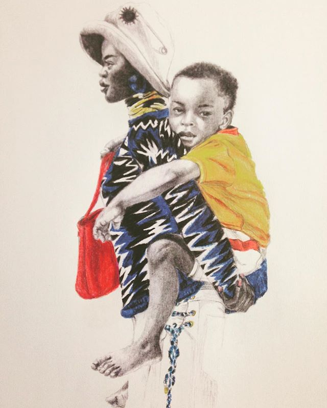 Fashion- . . . . . #fashionillustration #Fashion#drawing#pencil #pencildrawing#portrait #voguemagazine #AdutAkech#Polychromes #instaart#editorial#Chanel
