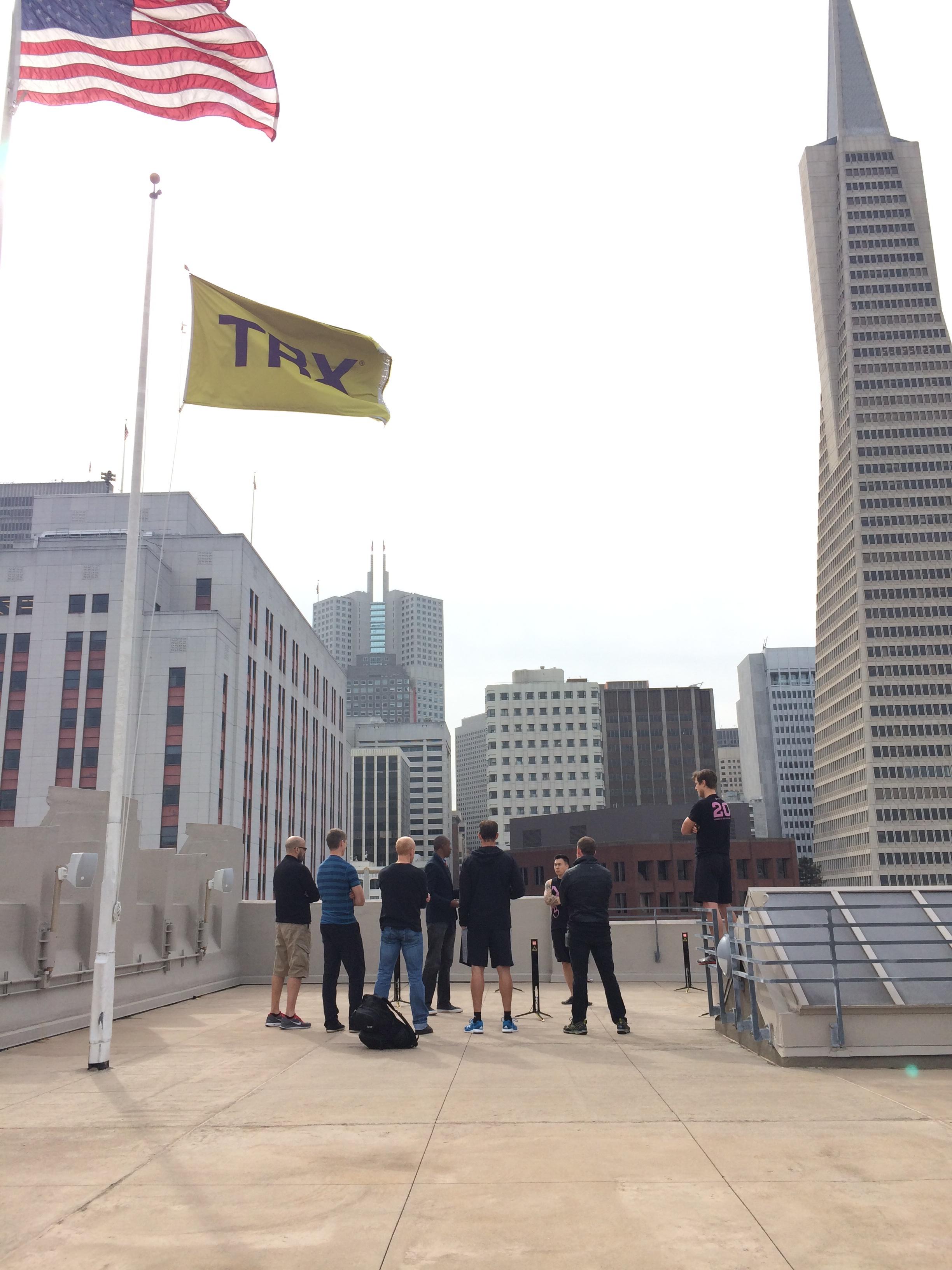 True Agility live demo at TRX HQ SF
