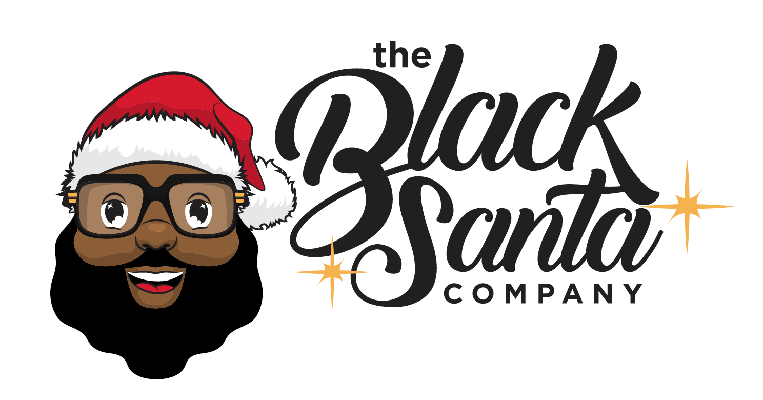 Black Santa Co. logo designed by 510media