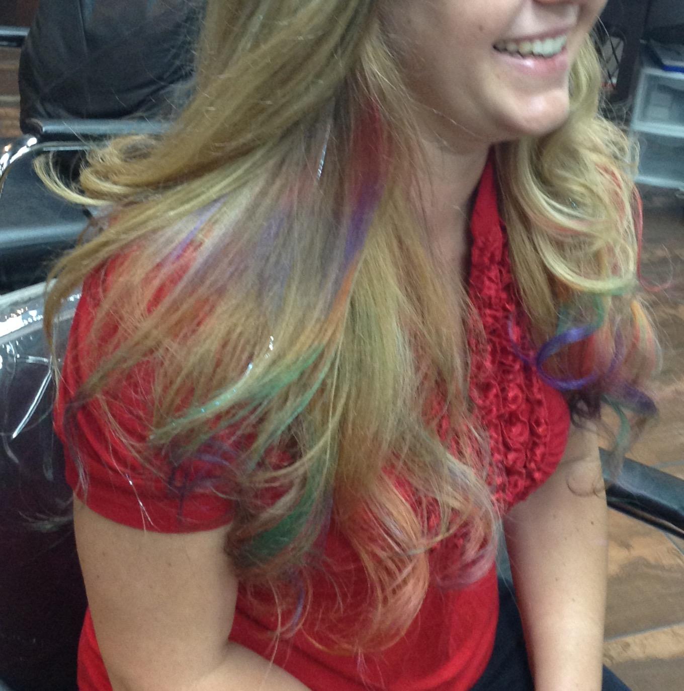 Mermaid Hair Coloring !! -