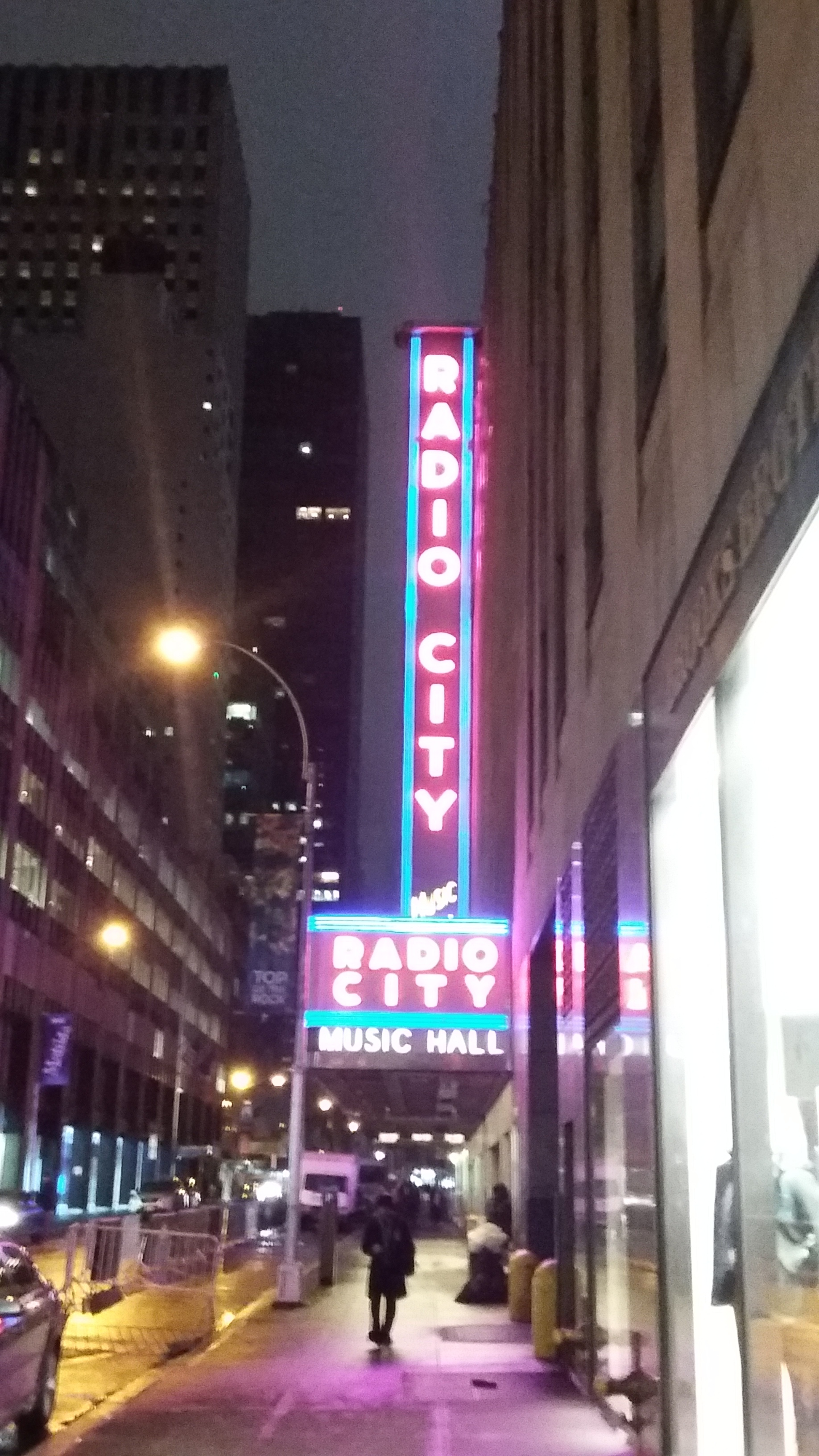 We stayed at a hotel right near Radio City Music Hall. NBC Studios is just a few steps away.